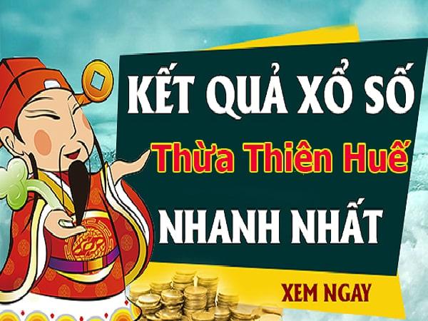 Soi cầu dự đoán XS Thừa Thiên Huế Vip ngày 02/12/2019
