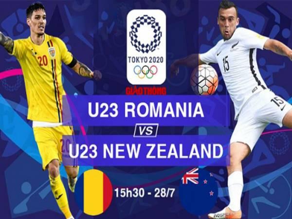 Nhận định U23 New Zealand vs U23 Romania, 15h30 ngày 28/7